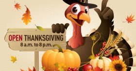 MD Now is Open Thanksgiving from 8am to 8pm