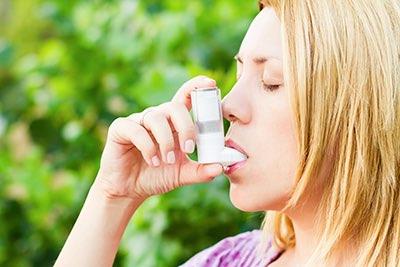 La mayoría de las medicinas del asma se entregan a través de un inhalador