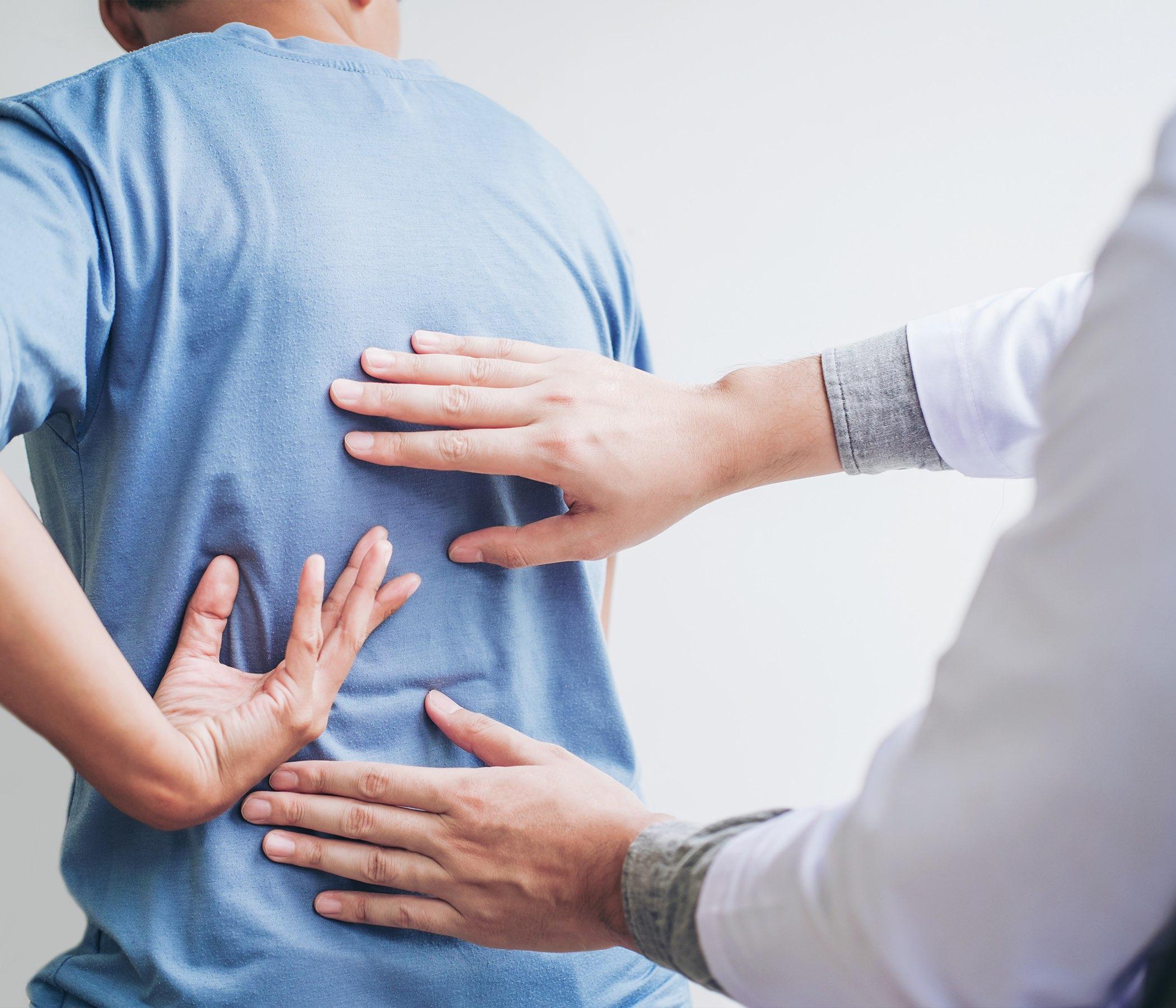Chequeo del dolor de espalda